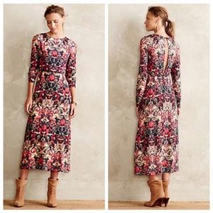 Anthropologie Sam and Lavi Midi Dress